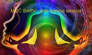 MOČ BARV - celoletna šola barvne terapije @ Notranja Svetloba